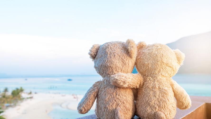 bears-hugging-sunset